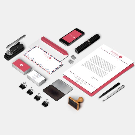 réalisation HTAG communication_logo Jeannette Communication - Branding